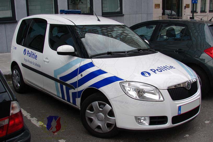 Skoda au service de la police Regio+rhode+%26+schelde+skoda+roomster