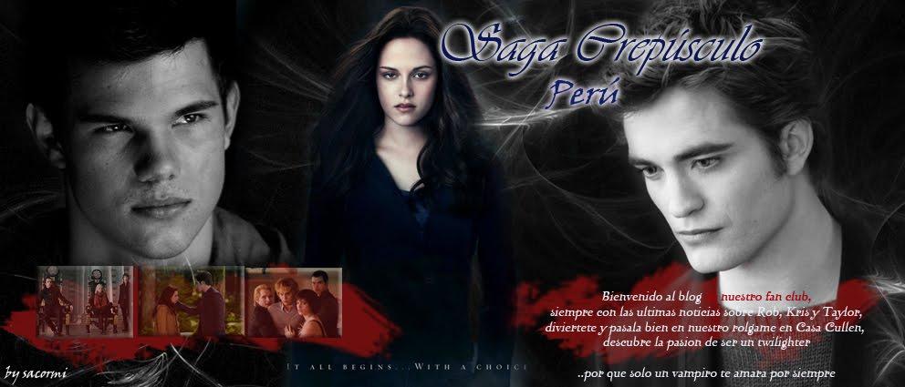 Saga Crepúsculo Perú: ––––•(-• ♥ sOlO un vampirO te amaRa x siempRe ♥ •-)•––––