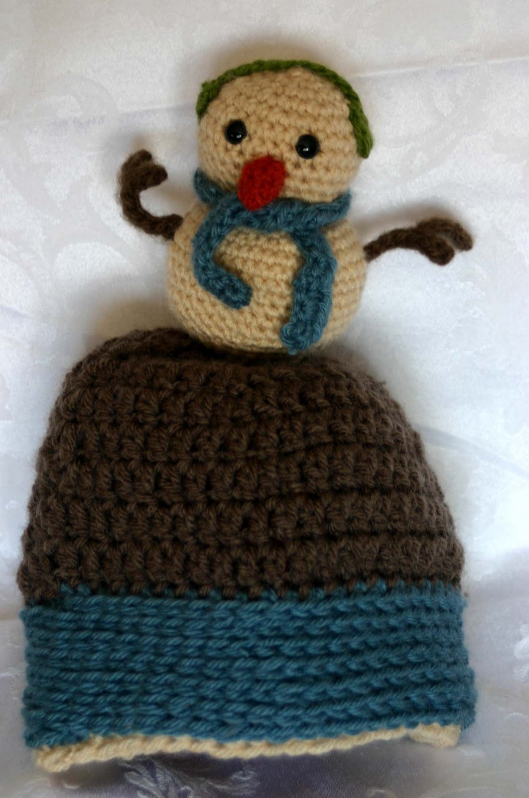 Crochet Pattern Novelty Hats : Crazy Frog Crochet: Novelty Hats