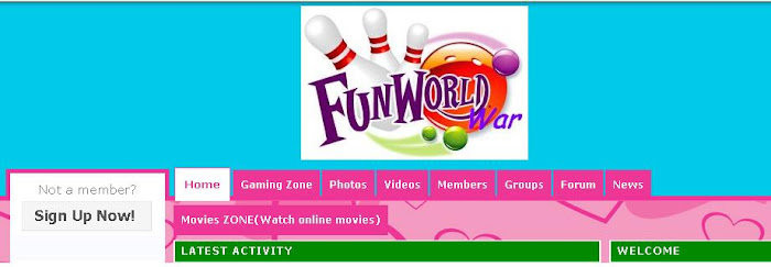 join Our NEW site... play online games..Chat..movies...wall post...private chat...many more things.