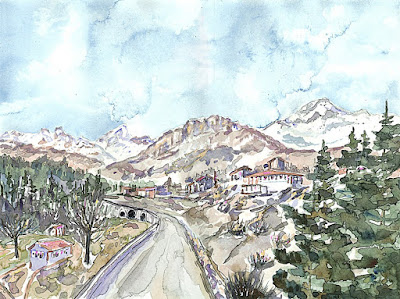 Charlene Brown, art supplies, watercolour