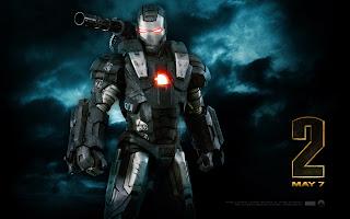 Iron Man 2 Black Iron Man HD Movie Wallpaper