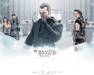 Resident Evil Afterlife Movie Poster