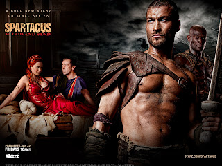 Spartacus Blood and Sand Characters HD Wallpaper