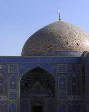 Lotf&#39;allah mosque, dome and entrance, december 2008