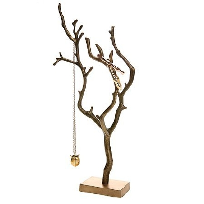 All squared away jewelry tree stands for Tree branch jewelry holder