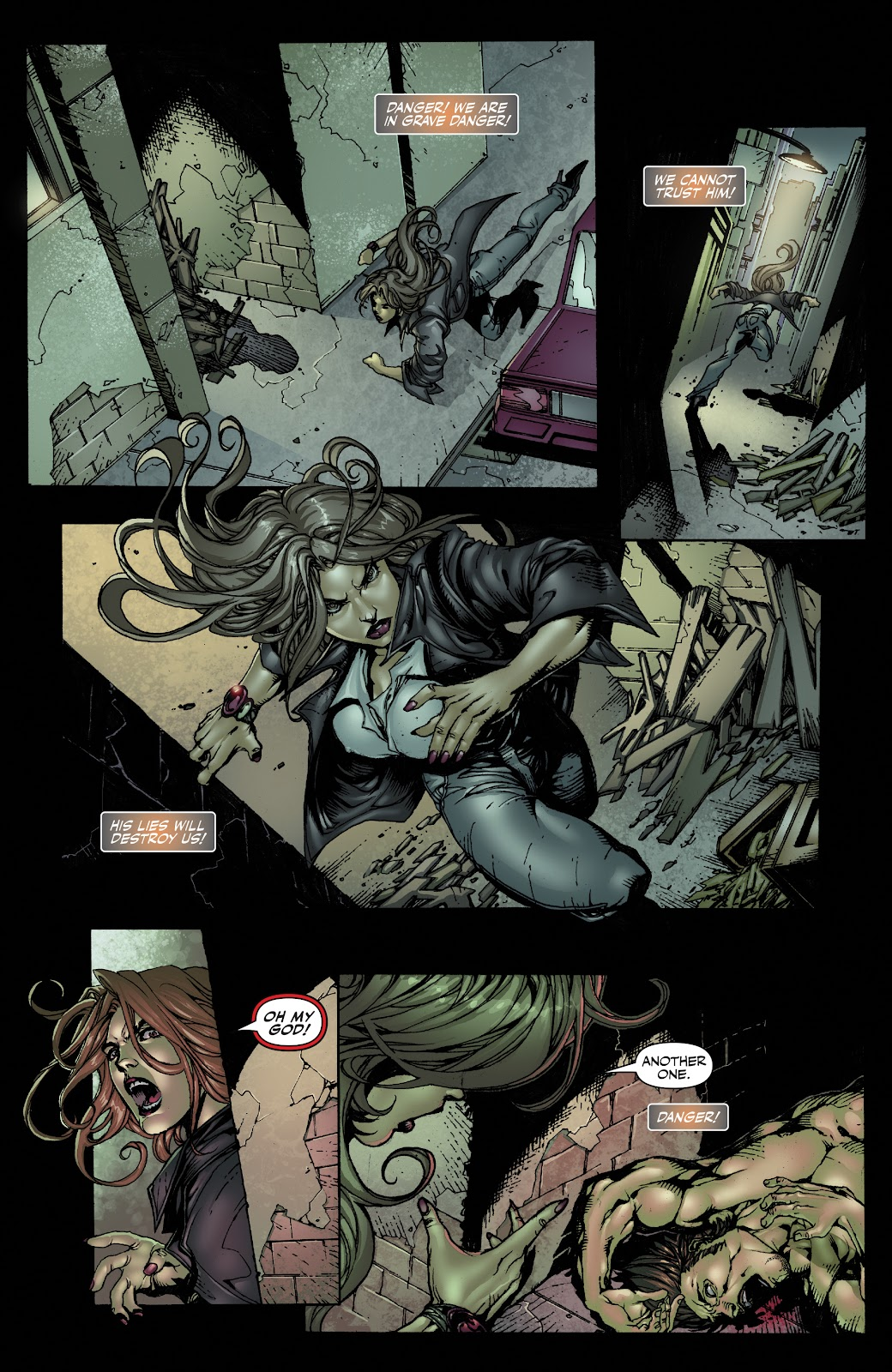 Read online Witchblade: Shades of Gray comic -  Issue #1 - 13
