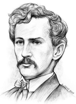 "In 1865 after mortally wounding Abraham Lincoln, famed actor John Wilkes Booth leaped gracefully onto the stage of Fords Theater, landing uninjured while announcing to the audience, ""Sic semper tyrannis!""  During the chaos, he made his escape out the back door, adding, ""The South is avenged!""."