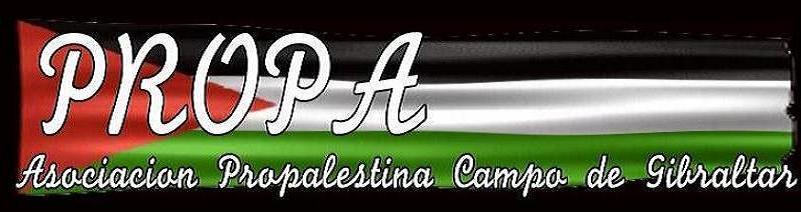 Resultado de imagen de Asociación ProPalestina del Campo de Gibraltar