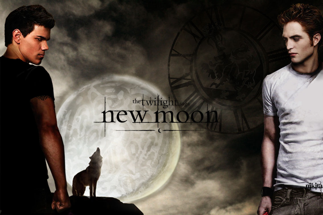New moon edward and bella and jacob