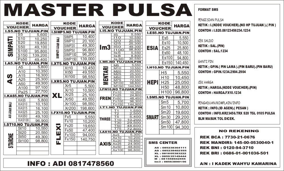 Image Result For Agen Pulsa Murah Di Sukahening