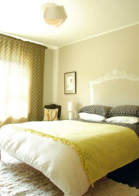 Arquitectura de casas cabecero cama - Cabecero cama pintado ...