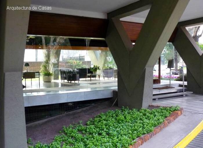 Arquitectura de casas jardines de dise o en accesos de for Accesos arquitectura