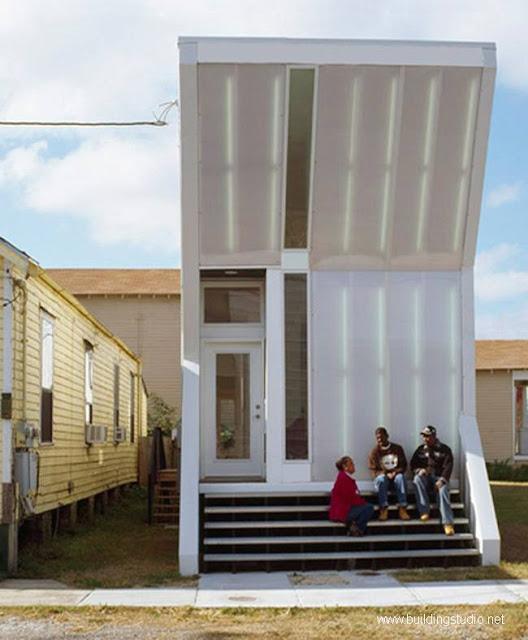 Fachada de casa de diseño