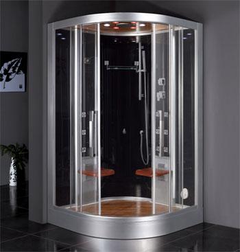 Arquitectura de casas saunas h medos para la casa - Cabina ducha sauna ...