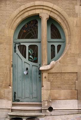 Puerta Art Nouveau