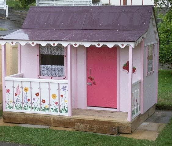 Arquitectura de casas casas infantiles de jard n para for Casa infantil jardin