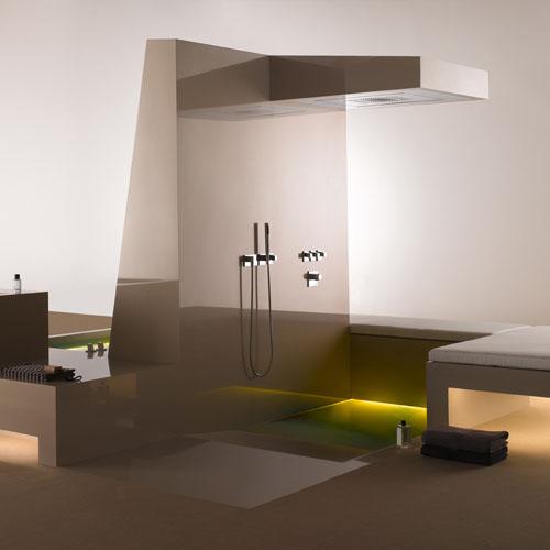 Instalación de baño vanguardista