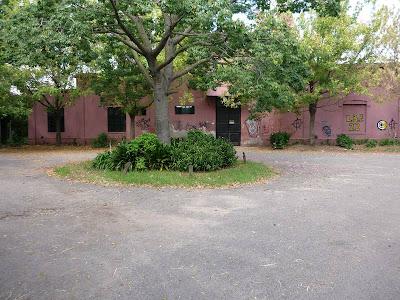 Casa de campo en el parque