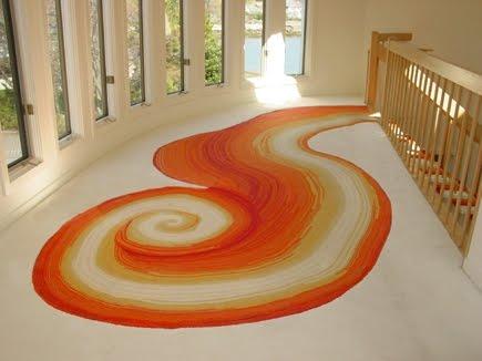 Arquitectura de casas alfombras modernas nicas de no tejido for Alfombras carpetas modernas