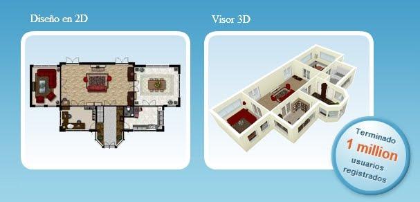 Software online diseño casas planos