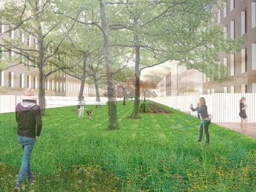 Arquitectura de casas espacios verdes en la ciudad - Espacios verdes logrono ...