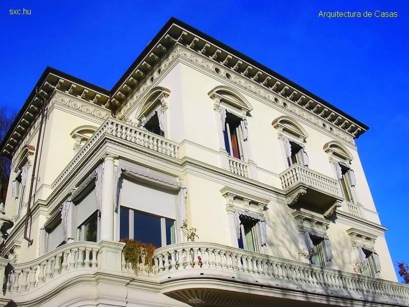 Arquitectura de casas casas de lujo y residencias for Casas clasicas fotos
