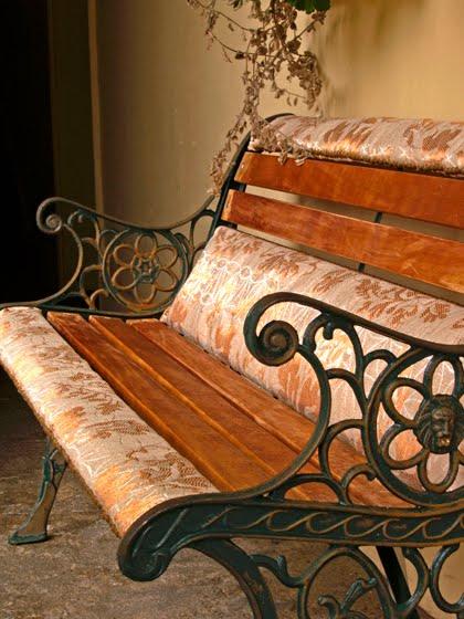 Arquitectura de Casas: Muebles de jardín tapizados