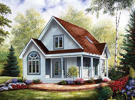 Arquitectura de casas casas campestres americanas for New england country homes floor plans
