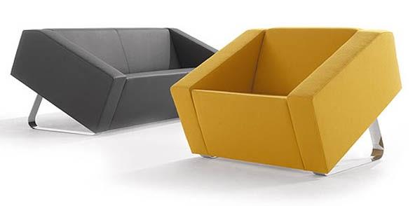 Arquitectura de casas sof s de estilo contempor neo for Sofas contemporaneos