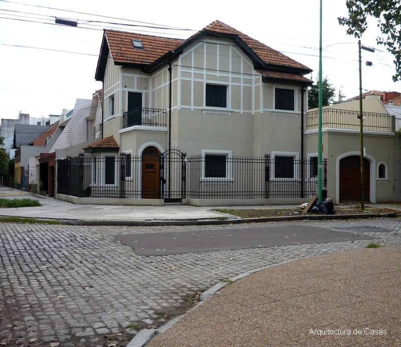 Fachadas de un chalet en esquina las casas de este car - Fachadas de chalets ...