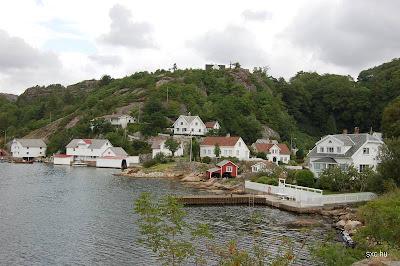 Casas de pueblo costero