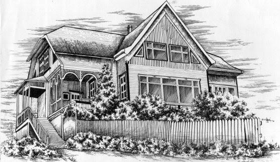 Mansi n holandesa en bogot dibujo de una casa for Casa mansion bogota