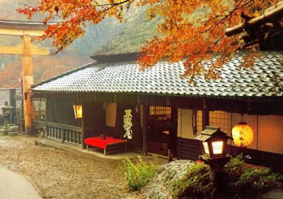 Casa de arquitectura japonesa tradicional