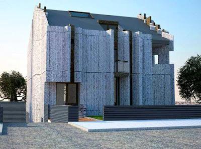 Residencia moderna en Madrid