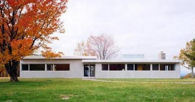 Casa de aluminio diseño contemporáneo en Estados Unidos