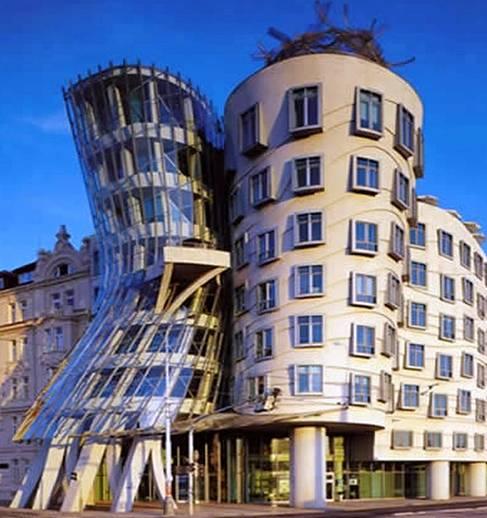 Dancing House en Praga
