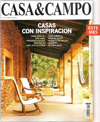 Tapa de un número de la revista Casa & Campo
