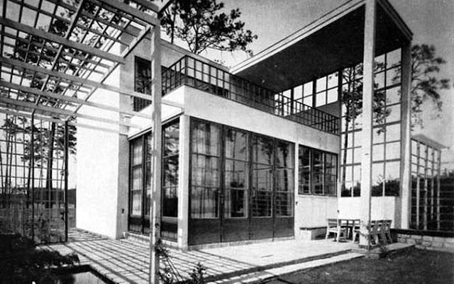 Casa de estilo Moderno en Berlín 1929-30 Alemania