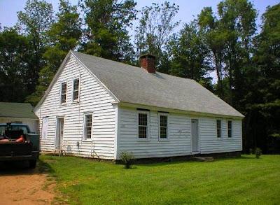Casa de estilo colonial temprano
