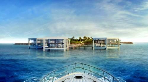 Casas sobre el agua