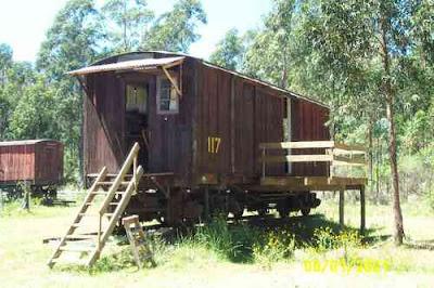 Casa vagón de tren