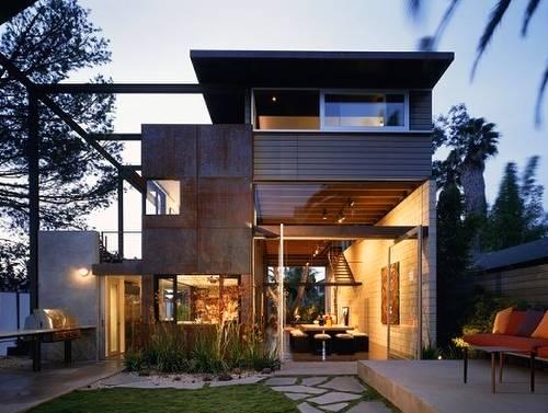 Casa contemporánea en California - Arquitectura norteamericana
