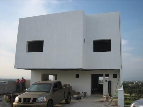 Arquitectura de casas paneles de concreto ligero para for Viviendas sobre terrazas