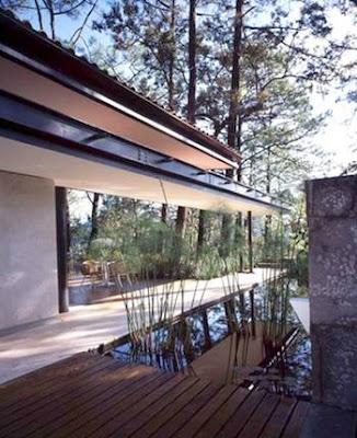 Casa de acero y vidrio
