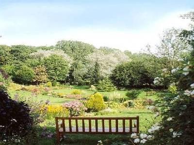 Jardín de una casa provenzal