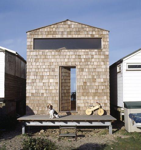 Cabina de madera contrafachada