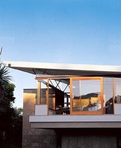 Casa rural australiana elevada diseño moderno estilo Contemporáneo