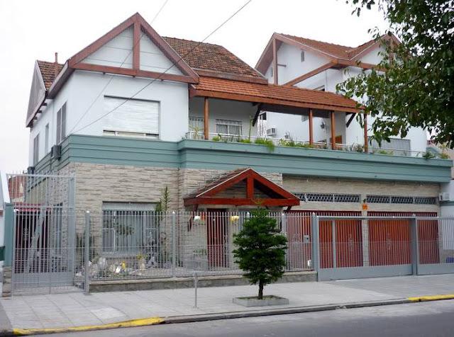 Reforma de dos casas formando una residencia en Villa Devoto Buenos Aires Argentina