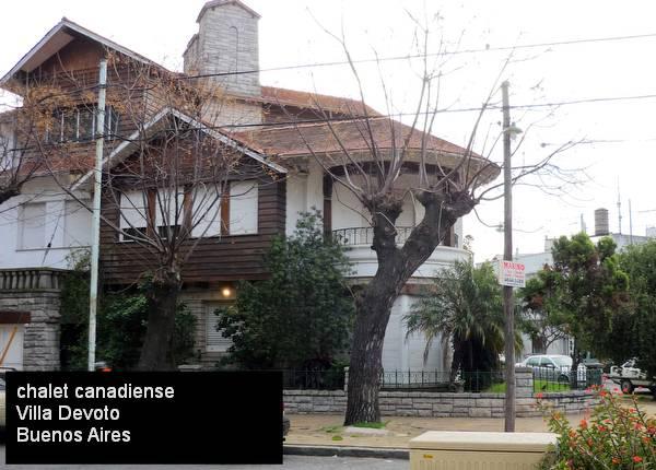Chalet tipo canadiense en Villa Devoto, Ciudad de Buenos Aires